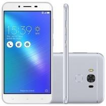 """Smartphone Asus ZenFone 3 Max 32GB Prata - Dual Chip 4G Câm. 16MP + Selfie 8MP Tela 5.5"""""""