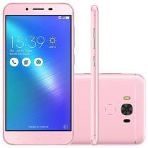 "Smartphone Asus ZenFone 3 Max 32GB Rosa - Dual Chip 4G Câm. 16MP + Selfie 8MP Tela 5.5"""