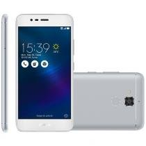Smartphone asus zenfone 3 max 5.2, 4g, 16gb, 13mp, dual, prata - zc520tl -