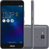 Smartphone Asus Zenfone 3 Max Dual Chip Android 6 Tela 5.2 16GB 4G Câmera 13MP - Cinza -