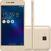 Smartphone Asus Zenfone 3 Max Dual Chip Android 6 Tela 5.2 16GB 4G Câmera 13MP - Dourado -