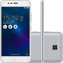 Smartphone Asus Zenfone 3 Max Dual Chip Android 6 Tela 5.2 16GB 4G Câmera 13MP - Prata -