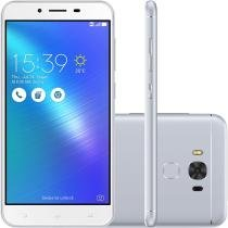 Smartphone Asus Zenfone 3 Max Dual Chip Android 6.0 Tela 5.5 Qualcomm Snapdragon 32GB 3GB RAM 4G Câmera 16MP - Prata -