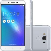 Smartphone Asus Zenfone 3 Max Snapdragon Dual Chip Android 6 Tela 5.5 32GB 2GB RAM 4G Wi-Fi Câmera 16MP - Prata -