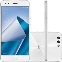 Smartphone Asus Zenfone 4, 128GB, Dual chip, 12 MP, 5.5, 4G - Branco -