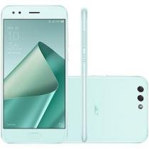 Smartphone Asus Zenfone 4 64GB Mint Green - Dual Chip 4G Câm 12MP e 8MP + Selfie 8MP Tela 5,5