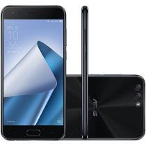 Smartphone Asus Zenfone 4 64GB Preto Dual Chip - 4G Câm. 12MP e 8MP + Selfie 8MP Tela 5,5 Full HD