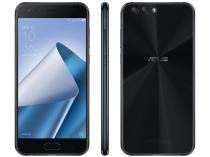 "Smartphone Asus Zenfone 4 64GB Preto Dual Chip - 4G Câm. 12MP e 8MP + Selfie 8MP Tela 5,5"" Full HD"