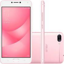 Smartphone ASUS ZenFone 4 Max 16GB Dual 4G 5,5 Câmera 13MP + 5MP Frontal 8MP Android 7 Rosa -