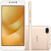 """Smartphone Asus Zenfone 4 Max 32GB (16GB Int + Cartão Sd 16GB) Dourado Dual Chip Tela 5.5"""" Snapdrago -"""