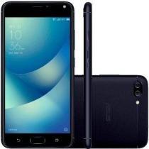 "Smartphone Asus Zenfone 4 Max 32GB (16GB Int + Cartão Sd 16GB) Preto Dual Chip Tela 5.5"" Snapdragon -"
