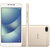 Smartphone Asus ZenFone 4 Max 32GB Dourado - Dual Chip 4G Câm. 13MP e 5MP + Selfie 8MP