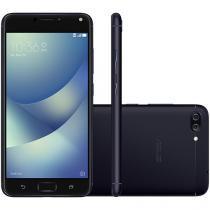 Smartphone Asus ZenFone 4 Max DTV 16GB Preto - Dual Chip 4G Câm. 13MP + 5MP + Selfie 8MP