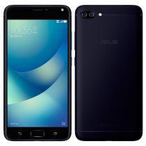 "Smartphone ASUS Zenfone 4 Max ZC554KL Preto Tela 5.5"", Android 7, Octacore, Frontal 8MP Traseira 13MP+5MP, 32GB -"
