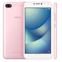"""Smartphone Asus Zenfone 4 Max ZC554KL Rosa com 32GB, Tela 5.5"""", Dual Chip, Câmera Traseira Dupla, 4G, Android 7.0, Processador Octa Core e 3GB RAM -"""