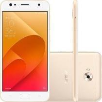 Smartphone Asus Zenfone 4 Selfie 64GB Tela 5.5 Dual Chip 4G Câmera Traseira 16MP Dual Frontal 20MP + 8MP - Dourado -