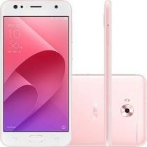 Smartphone Asus Zenfone 4 Selfie 64GB Tela 5.5 Dual Chip 4G Câmera Traseira 16MP Dual Frontal 20MP + 8MP - Rose Gold -