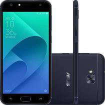 "Smartphone Asus Zenfone 4 Selfie Dual Chip Android 7 Tela 5.5"" Snapdragon 32GB Preto 4G Wi-Fi Câmera -"