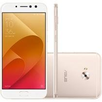 Smartphone Asus ZenFone 4 Selfie Pro 64GB Dourado - Dual Chip 4G Câm. 16MP + Selfie 12MP e 5MP
