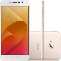 Smartphone Asus Zenfone 4 Selfie Pro Dual Chip Android Tela 5.5 Snapdragon 64GB 4G Wi-Fi Câmera Traseira 16MP Dual Frontal 12MP + 5MP - Dourado -