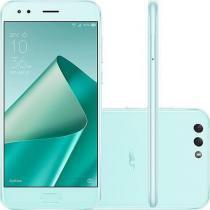 """Smartphone Asus Zenfone 4 Verde Dual Chip Tela 5.5"""" 64GB Câmera Dual Traseira 12 + 8MP Câmera Fronta -"""