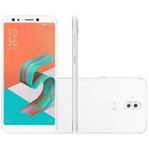 "Smartphone Asus Zenfone 5 Selfie 64GB Branco 4G - 4GB RAM Tela 6"" Câm. 16MP+8MP + Selfie 20MP+8MP"