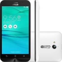 "Smartphone Asus Zenfone Go Dual Chip Android 5.1 Tela 5"" 8GB 3G Câmera 8MP - Branco - Asus"