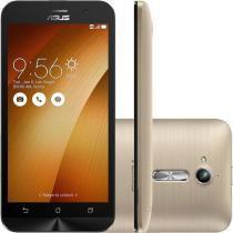 """Smartphone Asus Zenfone Go Dual Chip Android 5.1 Tela 5"""" 8GB 3G Câmera 8MP - Dourado - ZB500KG-3G027 -"""