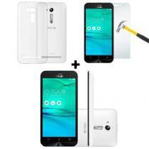 "Smartphone Asus Zenfone Go + Kit Película e Capa, Dual Chip Android 5.1 Tela 5"" 8GB 3G Câmera 8MP - - Asus"