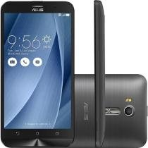 """Smartphone Asus Zenfone Go Live Dual Chip Android 5.1 Tela 5.5"""" 16GB Cinza - ZB551KL-DTV-3H140BR -"""