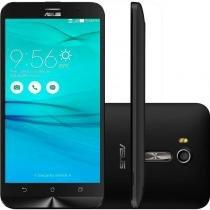 "Smartphone Asus Zenfone Go Live Preto 16GB TV Digita 4G Tela de 5,5"" Quad Core Dual Chip e Camera 13 - Asus"