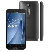 "Smartphone asus zenfone go zb500kg,8gb, tela 5"",dual,câmera 8mp, 3g, android 5.1, quad core -"