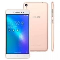 """Smartphone Asus Zenfone Live, Dourado, ZB501KL, Tela de 5"""", 32GB, 13MP -"""