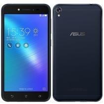 "Smartphone Asus Zenfone Live, Dual Chip, Preto, Tela 5"", 4G+WiFi, Android 6.0, 5MP, 16GB -"