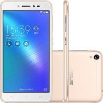 Smartphone Asus Zenfone Live Dual Chip Tela 5 Snapdragon 16GB 4G Wi-Fi Câmera 13MP - Dourado -