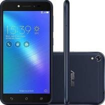 Smartphone Asus Zenfone Live Dual Chip  Tela 5 Snapdragon 16GB 4G Wi-Fi Câmera 13MP - Preto -