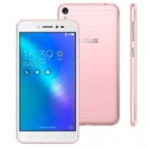 "Smartphone Asus Zenfone Live, Rose, ZB501KL, Tela de 5"", 32GB, 13MP -"