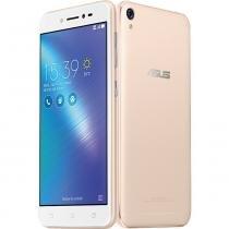 """Smartphone Asus Zenfone Live ZB501KL TV 16GB com Dual Chip, Tela 5"""", 4G/Wi-Fi, 13MP e GPS - Dourado -"""