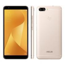 Smartphone Asus Zenfone Max Plus 32GB Tela 5.7 Dual Chip 4G Câmera 16 + 8MP (Dual Traseira) - Dourado -