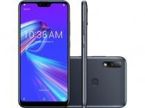 """Smartphone Asus ZenFone Max Plus M2 32GB Preto - 4G Octa Core 3GB RAM 6,26"""" Câm. Dupla + Selfie 8MP"""