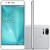 Smartphone Asus Zenfone Zoom S Dual Chip Tela 5.5 Snapdragon 64GB 4G Câmera 12MP Dual Cam - Prata -