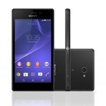Smartphone Desbloqueado Sony Xperia M2 Aqua Preto -