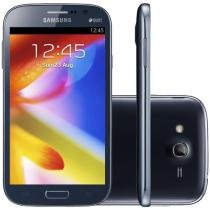 "Smartphone Dual Chip Samsung Galaxy Gran Duos 3G - Android 4.1 Câm. 8MP Tela 5"" Proc. Dual Core Wi-Fi"