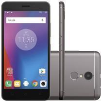 "Smartphone Lenovo Vibe K6 32GB Grafite Dual Chip - 4G Câm. 13MP + Selfie 8MP Tela 5"" Proc. Octa Core"