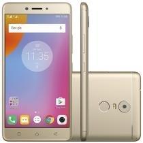 """Smartphone Lenovo Vibe K6 Plus 32GB Dourado - Dual Chip 4G Câm. 16MP + Selfie 8MP Tela 5,5"""""""