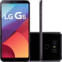 Smartphone LG G6 H870 Preto, Single Chip, Tela 5.7, Câm. 13MP, 32GB, 4G, Android 7.0 -