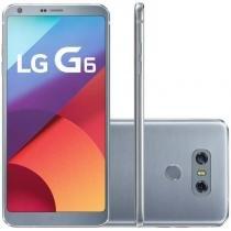 """Smartphone lg g6 platinum 32gb 4g tela de 5,7"""" duas câmeras de 13mp quad-core 2.35 ghz - Lg"""