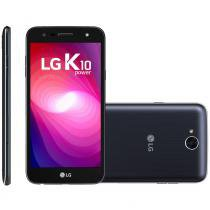 Smartphone lg k10 power, dual chip, tv, 4g, 32gb, 13mp, indigo - m320 - Lg