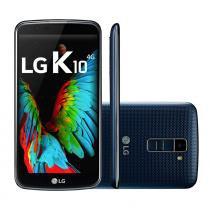 Smartphone LG K10 TV Indigo Android 6.0 Câmera 13MP, 4G, Memória 16GB, Processador Octa Core 1.14 Ghz - LG