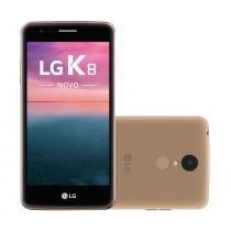 Smartphone lg k8 novo dourado, - Lg